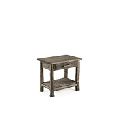 Rustic Side Table with Pine Top #3287