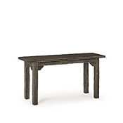 Rustic Console Table with Willow Top #3298