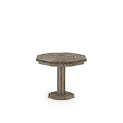 Rustic Table with Willow Top #3334