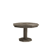 Rustic Table with Willow Top #3338