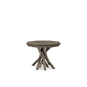 Rustic Side Table with Pine Top #3416
