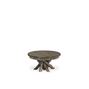 Rustic Coffee Table with Pine Top #3417