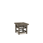 Rustic End Table with Willow Top #3448