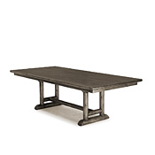 Trestle Dining Table with Pine Top #3506