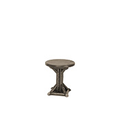 Rustic Side Table with Pine Top #3528