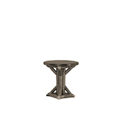 Rustic Side Table with Pine Top #3530