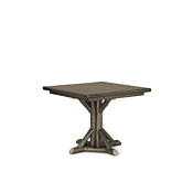 Rustic Dining Table with Pine Top #3594