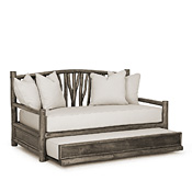 Rustic Trundle Daybed #4672