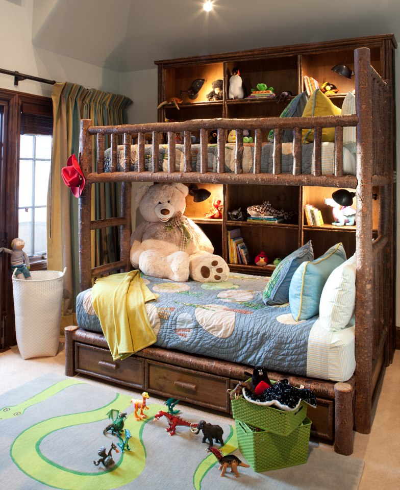Custom Rustic Bunk Bed