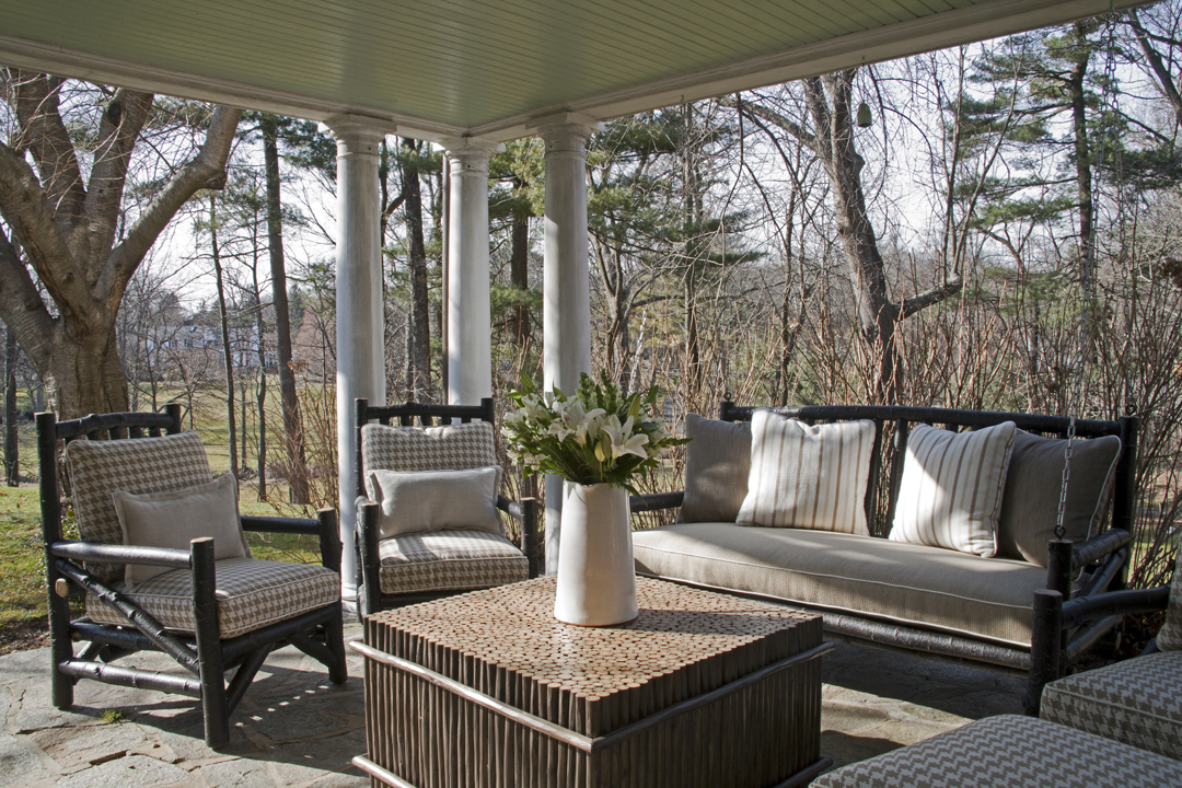 rustic porch by Fern Hill Designs