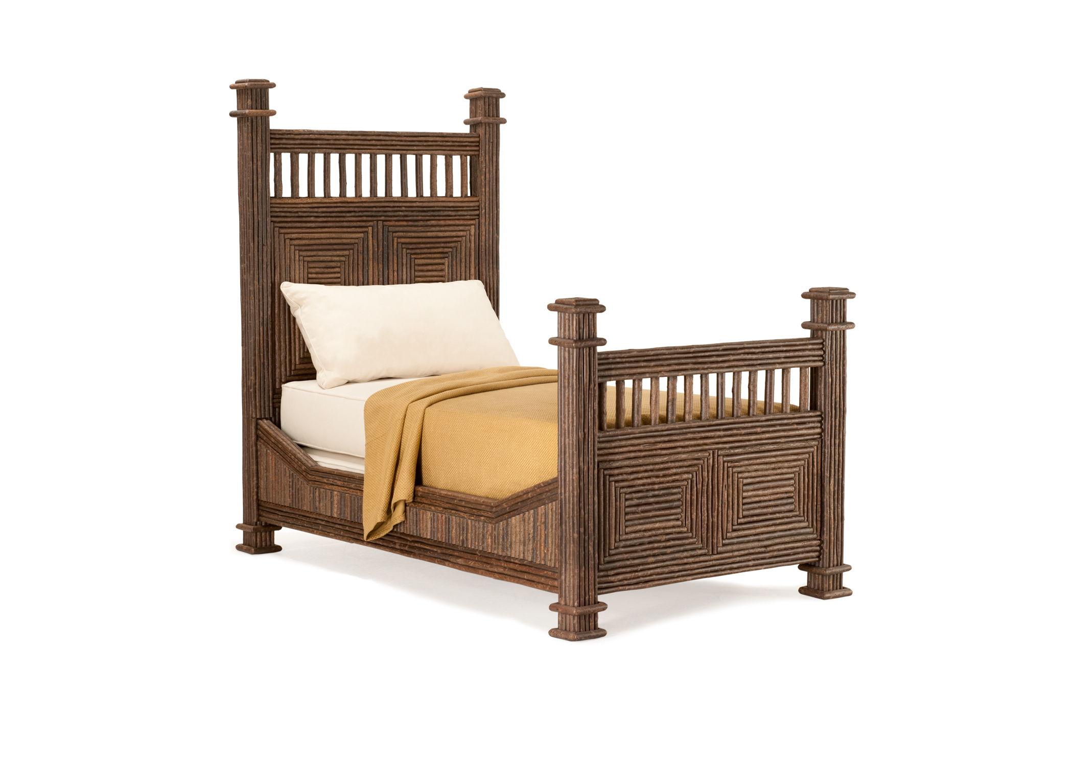 4204 Bed La Lune Collection Rustic Furniture