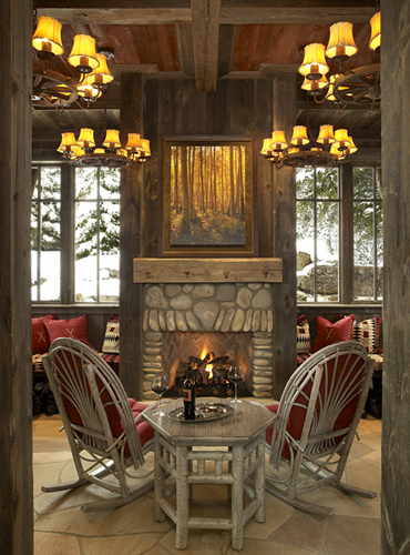 Colorado Ski Resort Living Room, Billy Beson, Minneapolis, MN