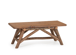 Rustic Bench #1112 by La Lune Collection