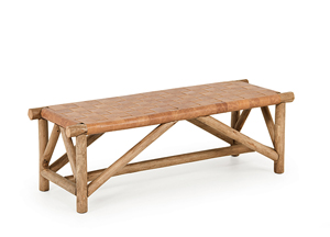 Rustic Bench #1147 by La Lune Collection