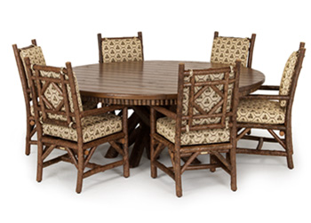 La Lune Collection Table #3093, Chairs #1290