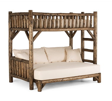 Bunk Bed #4255, Kahlua finish, by La Lune Collection