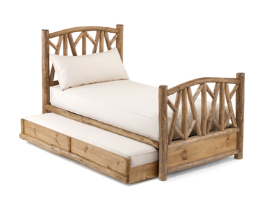 Custom Trundle Bed #4038 by La Lune Collection