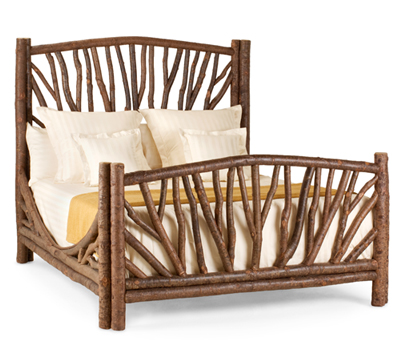 Rustic Bed #4304 (Queen) by La Lune Collection