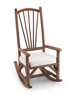 Rustic Rocking Chair #1190 By La Lune Collection