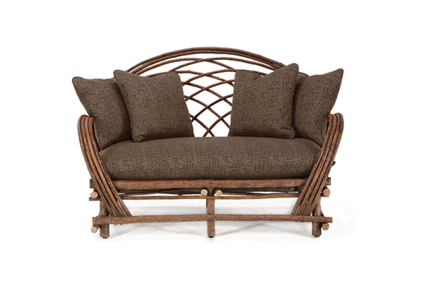 Rustic Loveseat #1014 by La Lune Collection