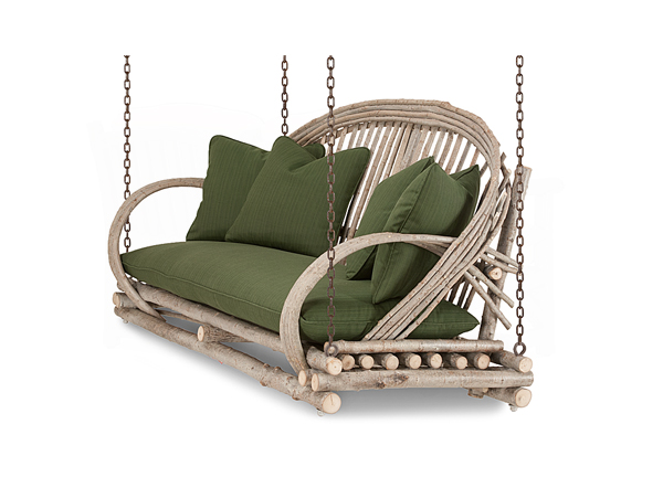 Rustic Porchswing #1091 by La Lune Collection