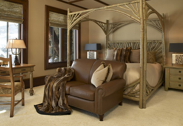La Lune Canopy Bed #4280 - Billy Beson Interiors