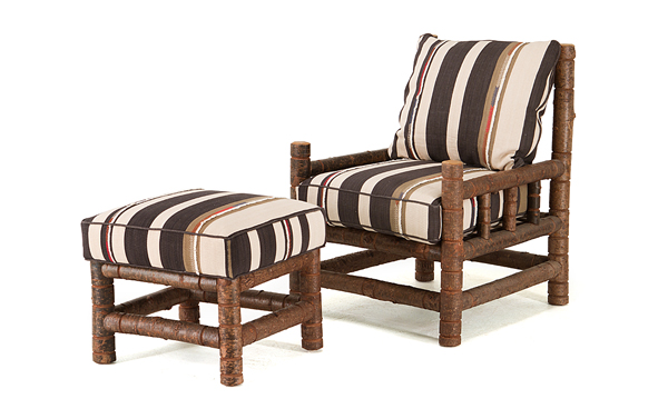 La Lune Collection Club Chair #1261 & Ottoman #1263