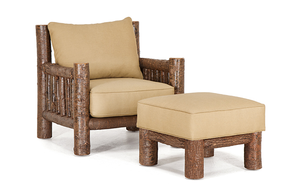 La Lune Collection Club Chair #1276 & Ottoman #1277
