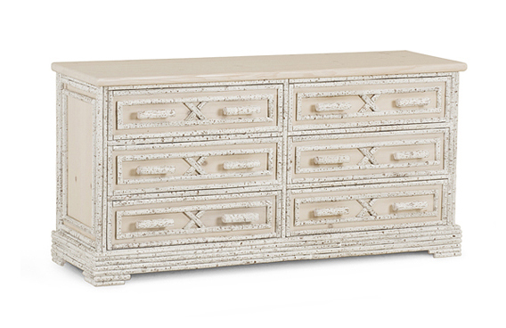 La Lune Collection 6 Drawer Chest #2190