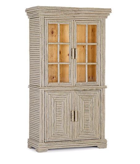 La Lune Collection Hutch w/Glass Doors #2066