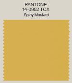 Pantone Spicy Mustard