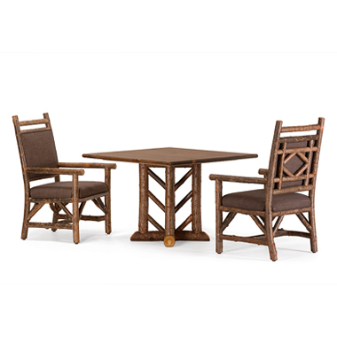 La Lune Collection Custom 'Arrowhead' Table, #1295 Armchairs