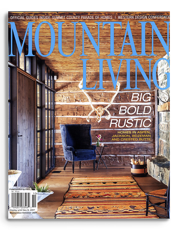 La Lune Collection in Mountain Living Magazine
